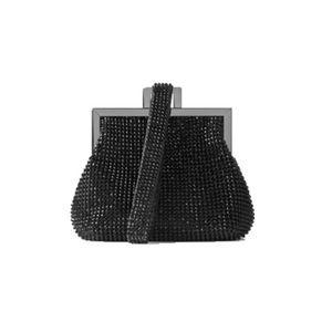 ZARA MINI WRISTLET BAG IN BLACK